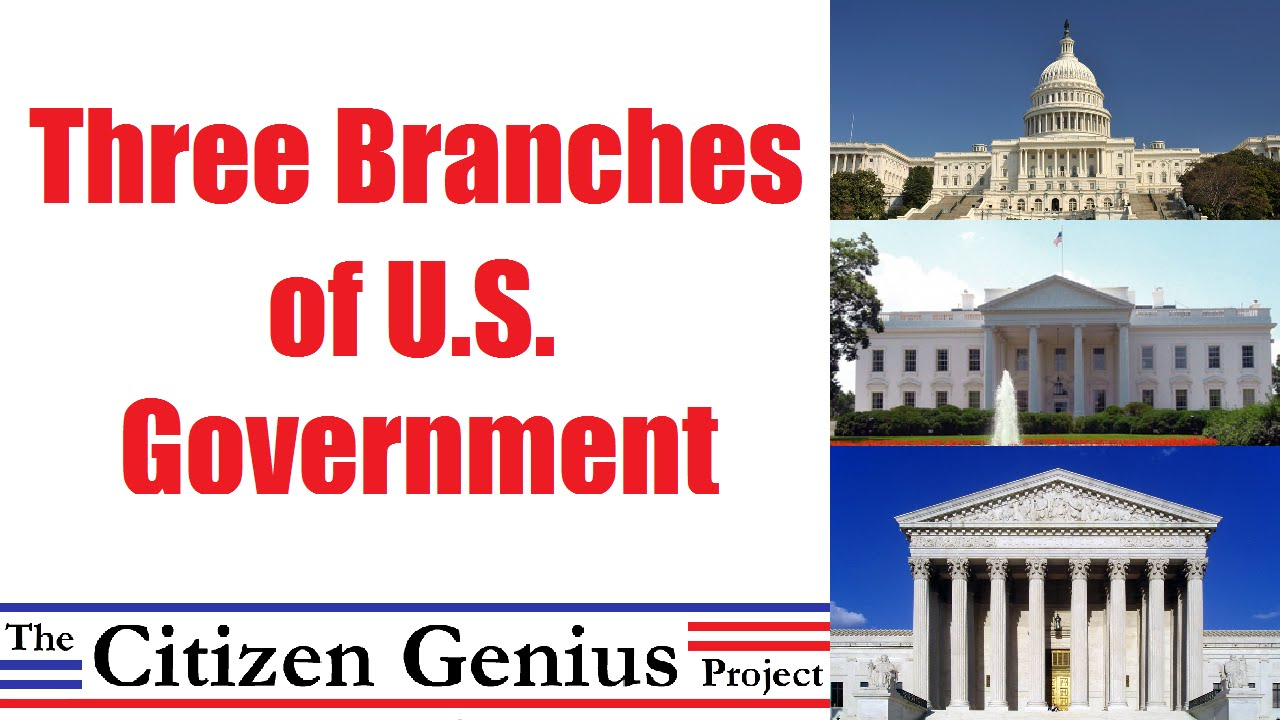three branches of us government