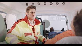Professioneller Krankentransport beim Samariterbund