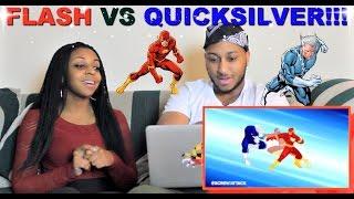 "ScrewAttack! ""Flash VS Quicksilver   DEATH BATTLE!"" Reaction!!!"