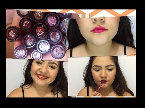 17 TONOS COLOURPOP LABIALES ULTRA MATTE/SATIN LIP SWATCHES
