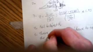 statistics 2013 01 23 Z test step 5
