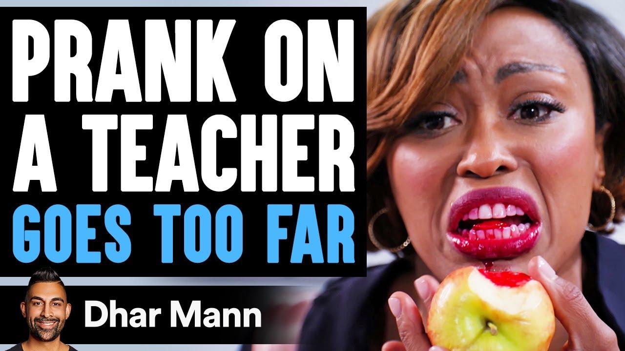 Download PRANK On Teacher GOES TOO FAR, What Happens Is Shocking   Dhar Mann