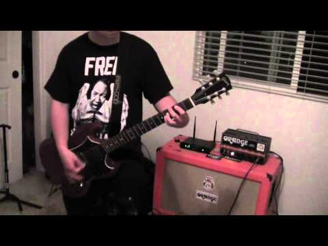 "Sum 41 ""Summer"" guitar cover By Daniel Rosales. 2015."