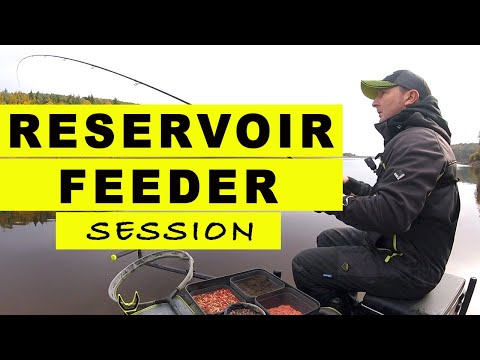 RESERVOIR Feeder Fishing SESSION - Match Fishing On LAKES