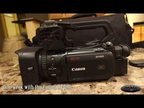 My Impressions Of The Canon XF400 After A Week