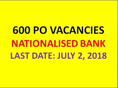 600 PROBATIONARY OFFICER (PO) VACANCIES IN BANK OF BARODA | 9-month ...