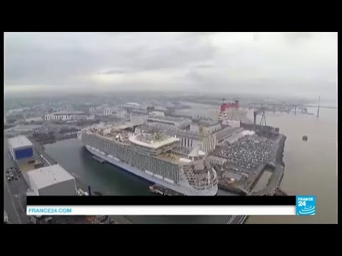 France : le plus grand paquebot du monde, Harmony of the Seas, largue les amarres !