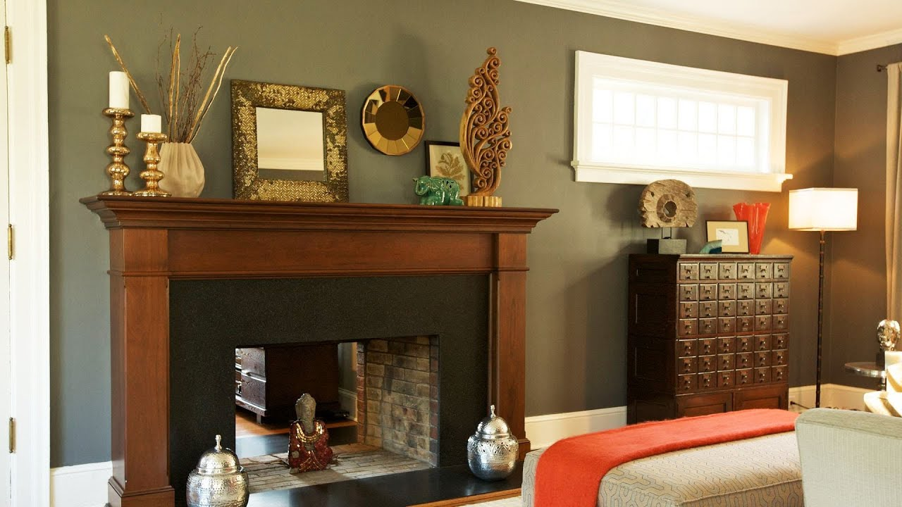 Tips & Tricks for Mantel Decorating | Interior Design - YouTube