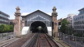 U-Bahn Berlin - U2 IK Führerstandsmitfahrt Theodor-Heuss-Platz - Pankow [4K]