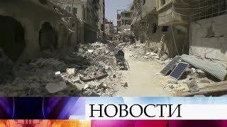 Эксперт ОЗХО считает, что выводы о химатаке в сирийской Думе не соответствуют действительности.