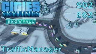 Cities Skylines Snowfall S02E62 - Endlich ... der Traffic Manager [DEUTSCH/PC/HD]