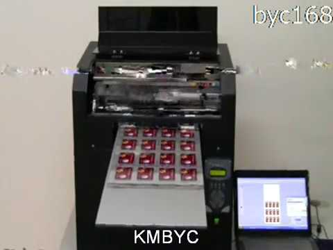 A3 Size Business Card Printing Machine Video