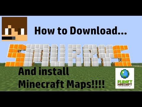 How To Download And Install Minecraft Maps From PlanetMinecraft.