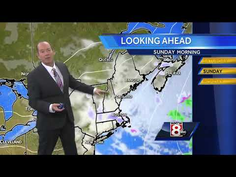 Plenty of clouds with snow showers later today