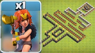 V IS FOR VALKYRIE MAZE!! | Clash Of Clans | NEW VALKYRIE EVENT!!