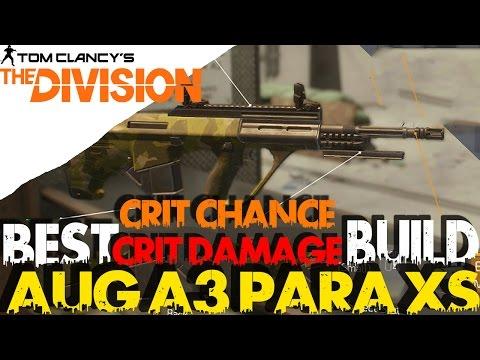 The Division: NEW AUG PARA XS Crit Chance / Crit Damage Build