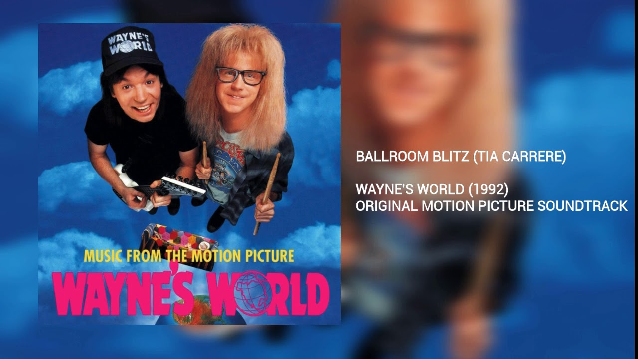 Ballroom blitz waynes world