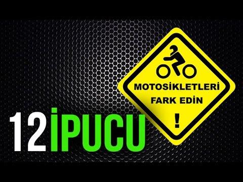 Daha İyi Motosiklet Sürüş Hakkında 12 İpucu