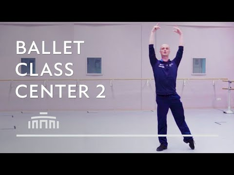 Ballet Class - Centre work 2 - Dutch National Ballet