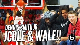 Dennis Smith Catches 1st Body in Front of J Cole & Wale!