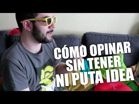 Cómo opinar sin tener ni puta idea | Jota Delgado