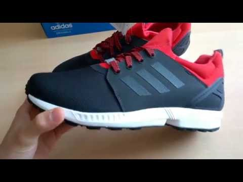 8104527324fce Unboxing butów  shoes Adidas ZX Flux NPS UPDT S79070 - YouTube