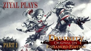Divinity: Original Sin Enhanced Edition (Tactician Difficulty) Let's Play Part 1 Welcome Back