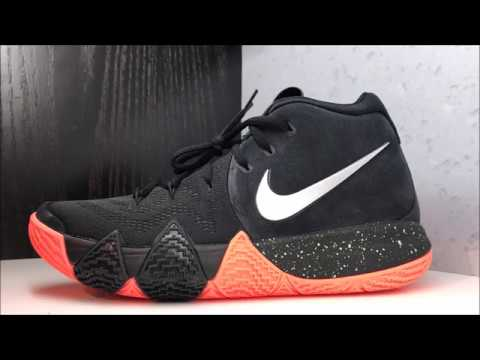 brand new 92cca cdb3d NIKE KYRIE IRVING 4 FLY TRAP SNEAKER DETAILED REVIEW