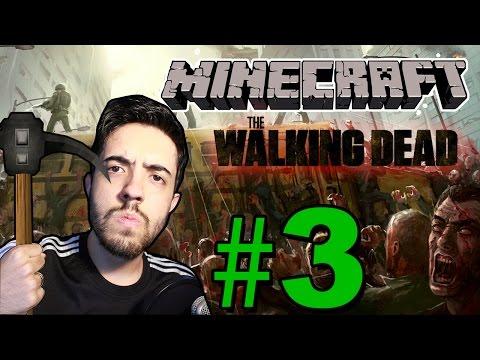 MINECRAFT WALKING DEAD [3/5] ENCONTRO COM PESSOAS E UM ASSASSINO!