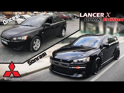 Mitsubishi LancerX Dark WideBody \\ Not Evo X // Modifiye