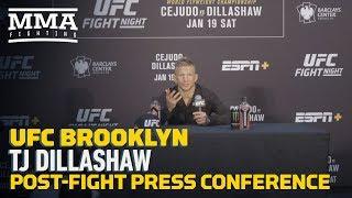 UFC Brooklyn: T.J. Dillashaw Post-Fight Press Conference - MMA Fighting