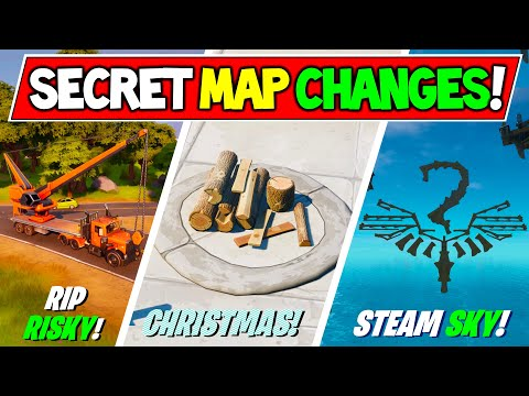 *NEW* Fortnite SECRET MAP CHANGES & Hidden Easter Eggs