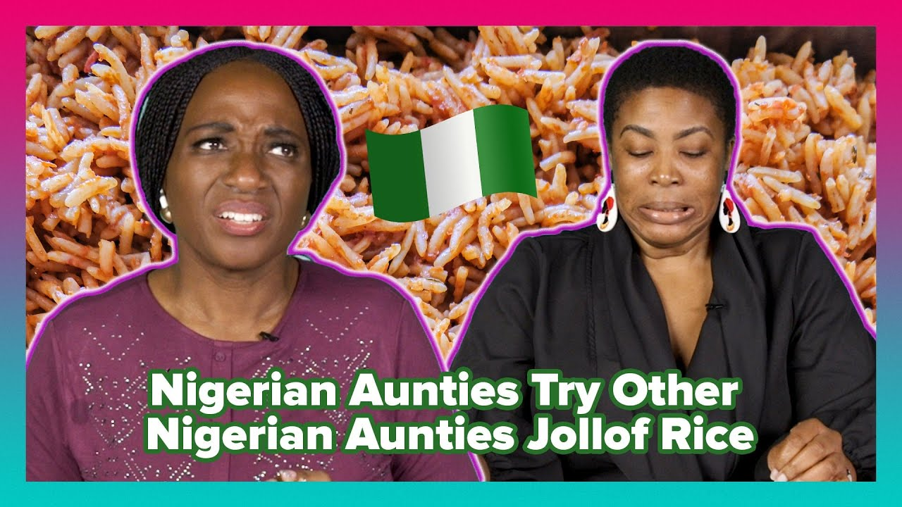 Download Nigerian Aunties Try Other Nigerian Aunties Jollof Rice