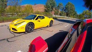 Ferrari 458 Speciale Races 800HP Modified Lamborghini! *Shocking Results*