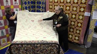 Bed Turning At The Aqs Quilt Show And Contest In Des Moines - 2012