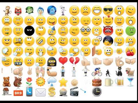 all skype emoticons in action 08.2015