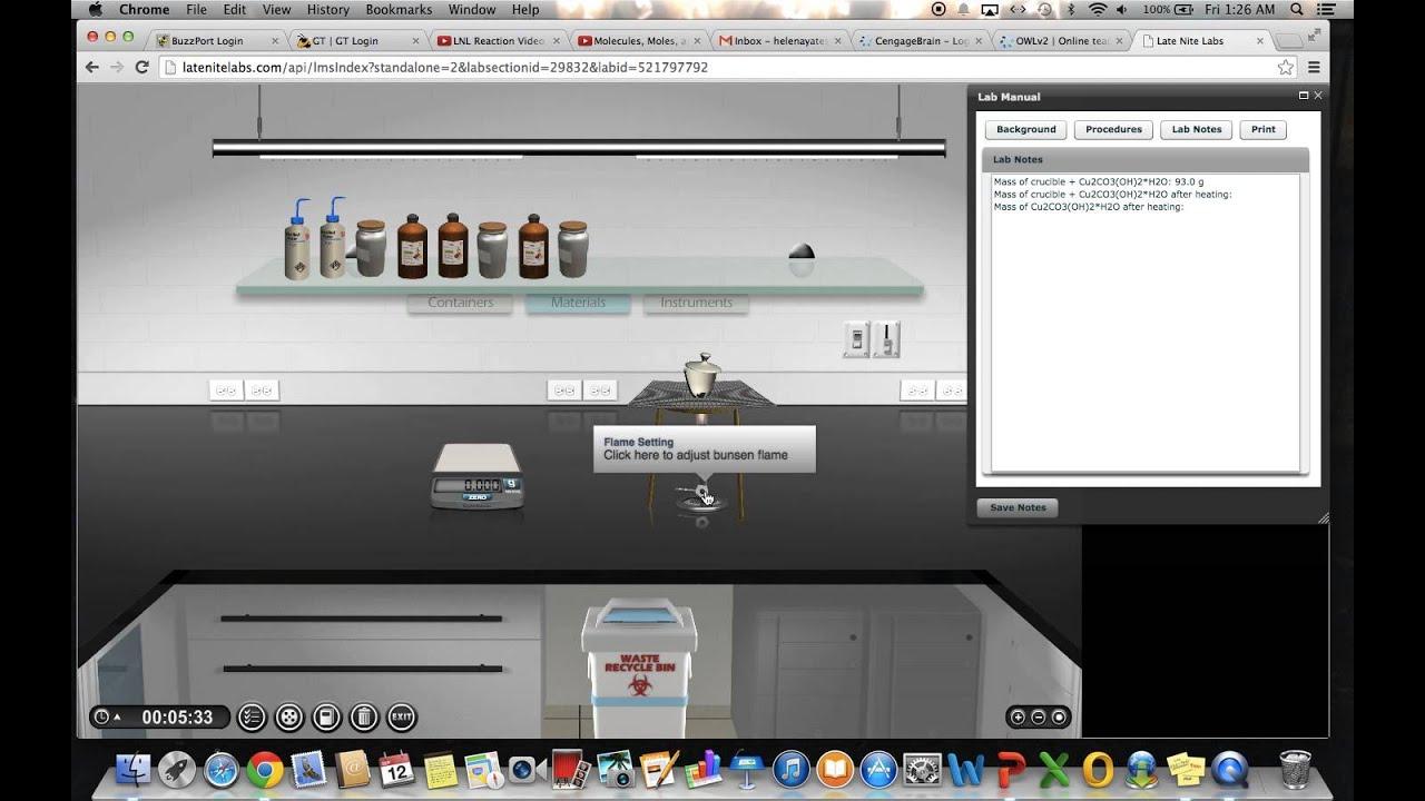 Late Nite Lab 1 5 video