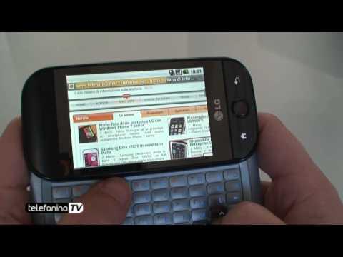 LG LinkMe GW620 videoreview da Telefonino.net