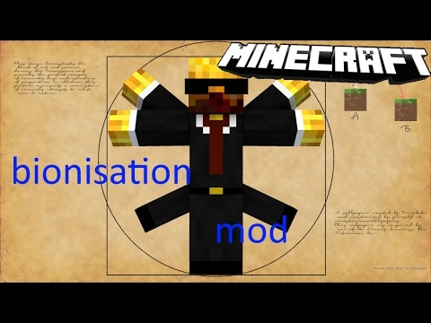 Krankheiten in Minecraft | bionisation mod (modvorstellung)[Minecraft,Deutsch]