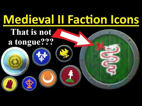 Faction Icons - A Historical Analysis - Medieval 2 Total War