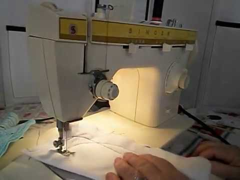 Vintage SINGER FASHION MATE 40 Sewing Machine Demo YouTube Stunning Singer 360 Sewing Machine