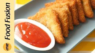 Potato triangles Recipe By Food Fusion