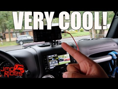 The Best Cell Phone Mount For Your Jeep Wrangler  - Best Jeep Wrangler Mods