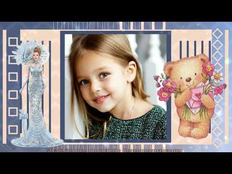 Поздравление С Днем Рождения! (девочке) - Готовый проект и стиль / Комплект шаблонов