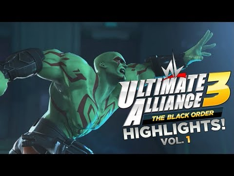 nL Highlights - MARKS PLAYING COMIC BOOK GAMES! [Marvel: Ultimate Alliance 3]