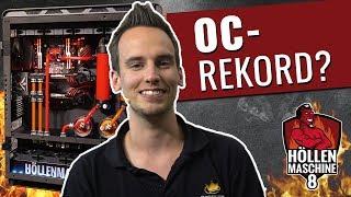Höllenmaschine 8: Knacken wir den Übertaktungs-Rekord mit der8auer? | #OC #Gaming-PC