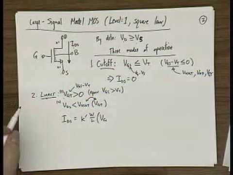 Analog Integrated Circuits (UC Berkeley) Lecture 3