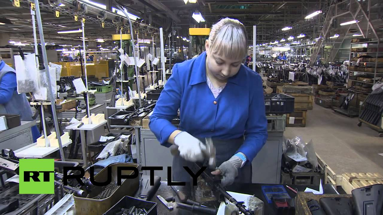 Production Factory Manufacturer Russia See Inside Kalashnikov Factory Youtube