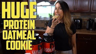 HUGE Protein Oatmeal Cookie - 20 GRAMS PROTEIN PER COOKIE!