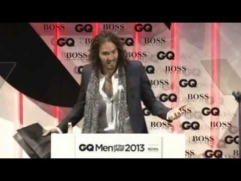 Russell Brand kicked out of GQ Awards for embarrassing Hugo Boss.